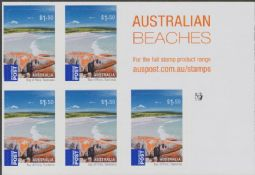 AUSTRALIA Reprint SG3429a $1.50 Bay of Fires, Tasmania self-adhesive sheetlet of 5 - 1 Koala